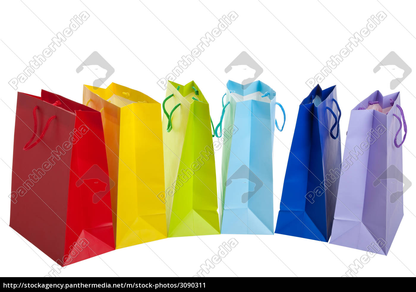 rainbow, shopping, bags - 3090311