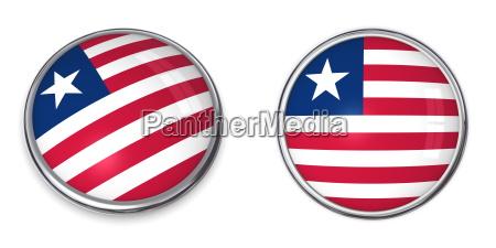 banner button liberia