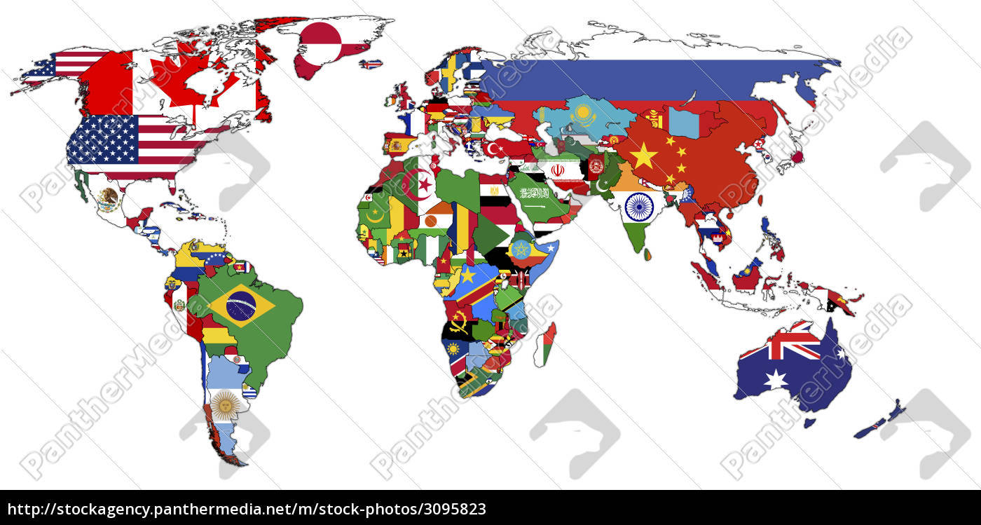 political, map, of, world - 3095823