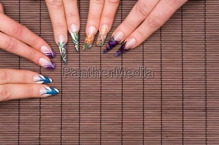 hand, hands, fingernails, fingernail, manicure, nagelstudio - 3098649