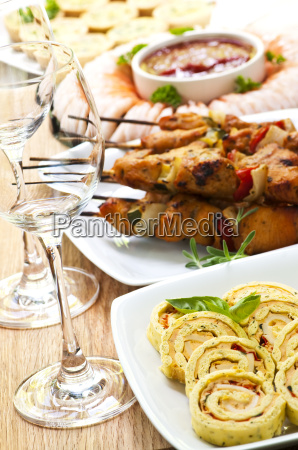 assorted, appetizers - 3099545