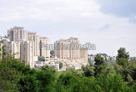jerusalem, modern, city - 3099945