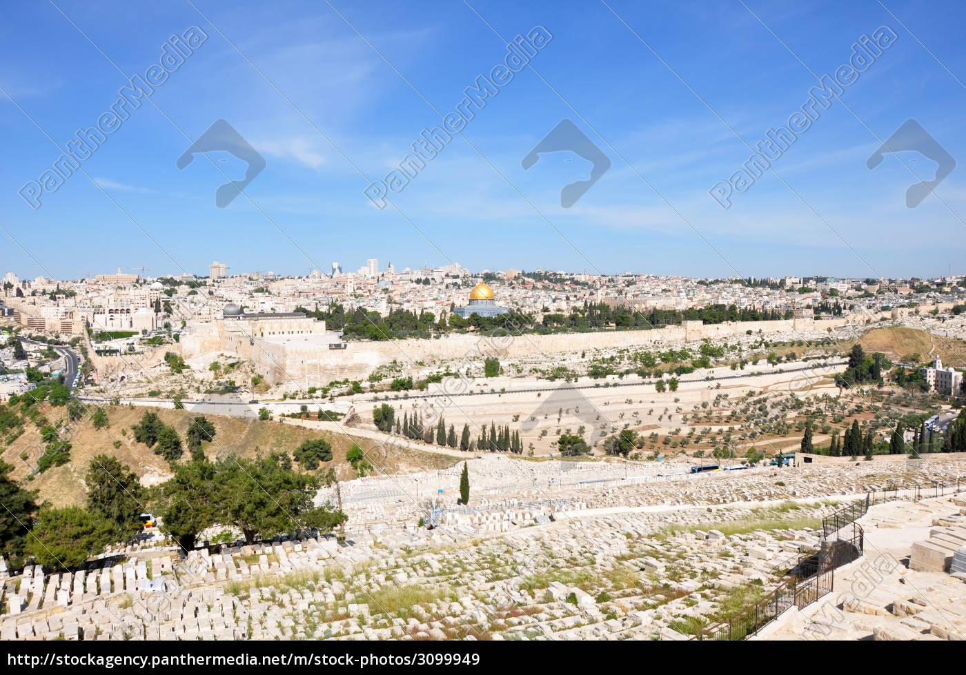 jerusalem, panorama - 3099949