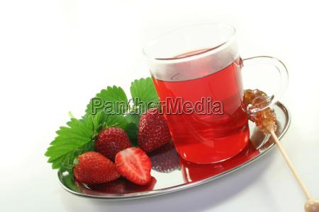 tea progenies fruits strawberry iced tea