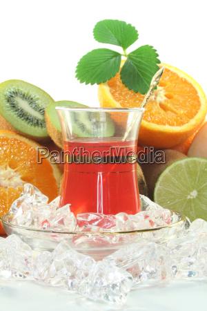 fruit iced tea
