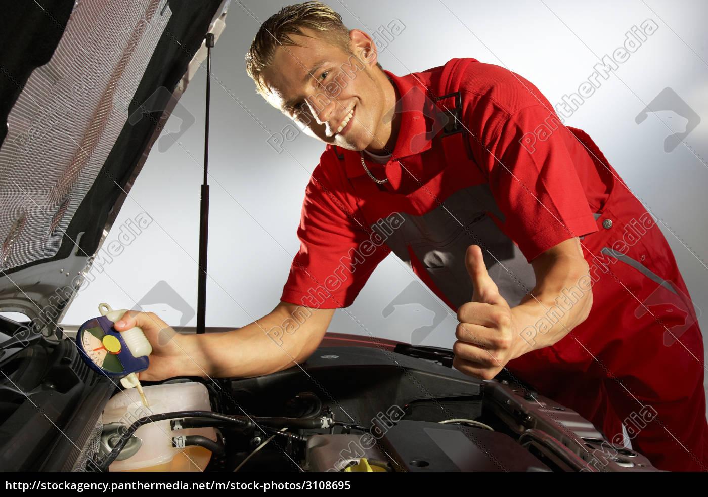 car, mechanic, checking, cooling, water - 3108695