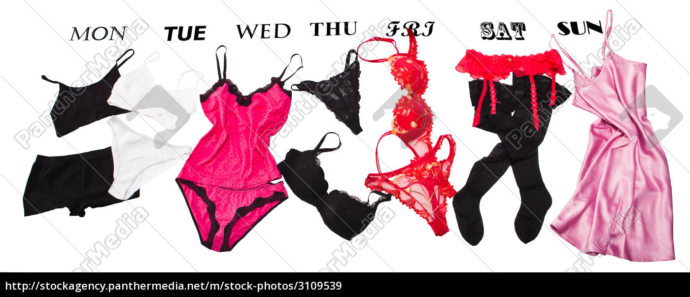feminine, lingerie, for, each, week, day - 3109539