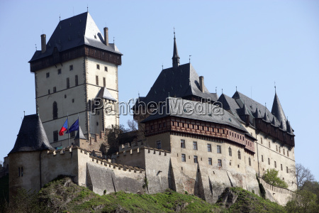 grand, view, of, karlstejn, castle - 3109623