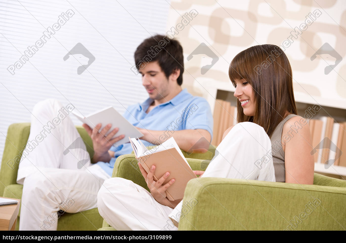 student, -, two, teenager, reading, book - 3109899