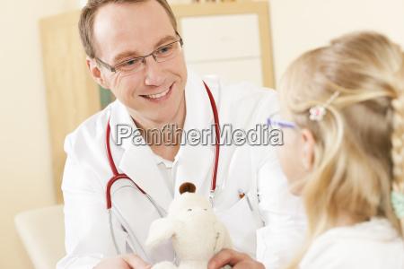 child's, doctor, a, stuffed, animal - 3111431