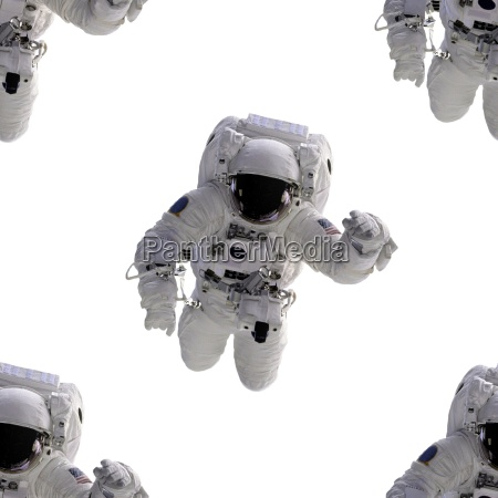 seamless background astronaut