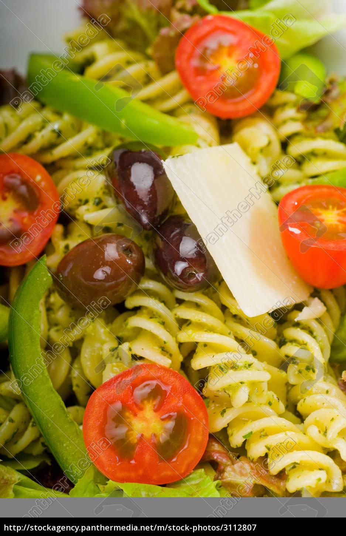 italian, fusilli, pasta, salad - 3112807