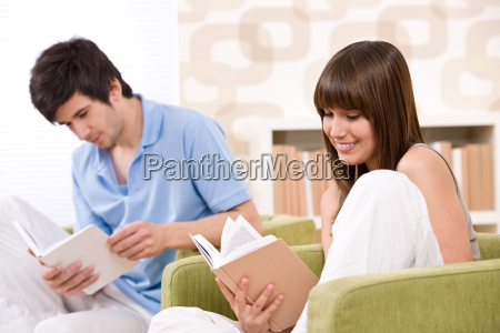 student, -, two, teenager, reading, book - 3113667