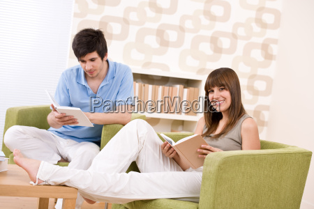 student, -, two, teenager, reading, book - 3113671