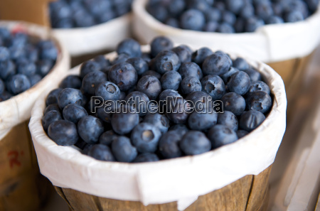 blueberries, in, a, basket, on, a - 3115181