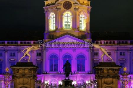 charlottenburg palace in lighting