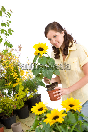 woman, flower, plant, bloom, blossom, flourish - 3122121