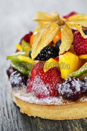 mixed, tropical, fruit, tart - 3132499