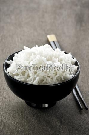 rice, bowl, and, chopsticks - 3132557