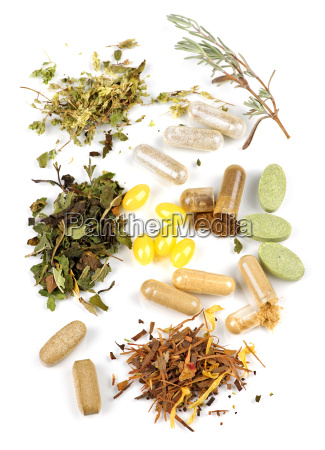 herbal, supplement, pills - 3135045