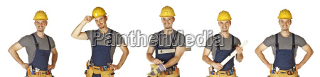 isolated, handyman, collection - 3137681