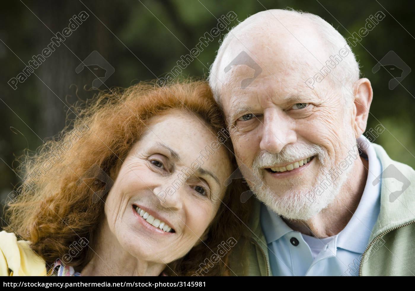 happy, senior, couple - 3145981