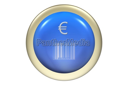 euro illustration button purchase statistical series