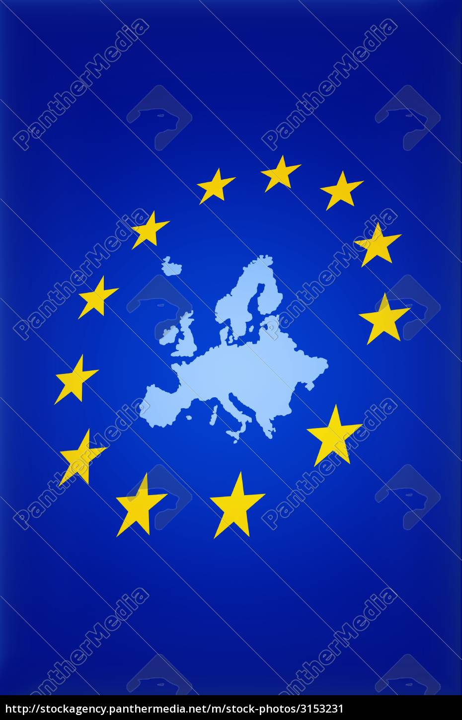 european, union, with, map - 3153231