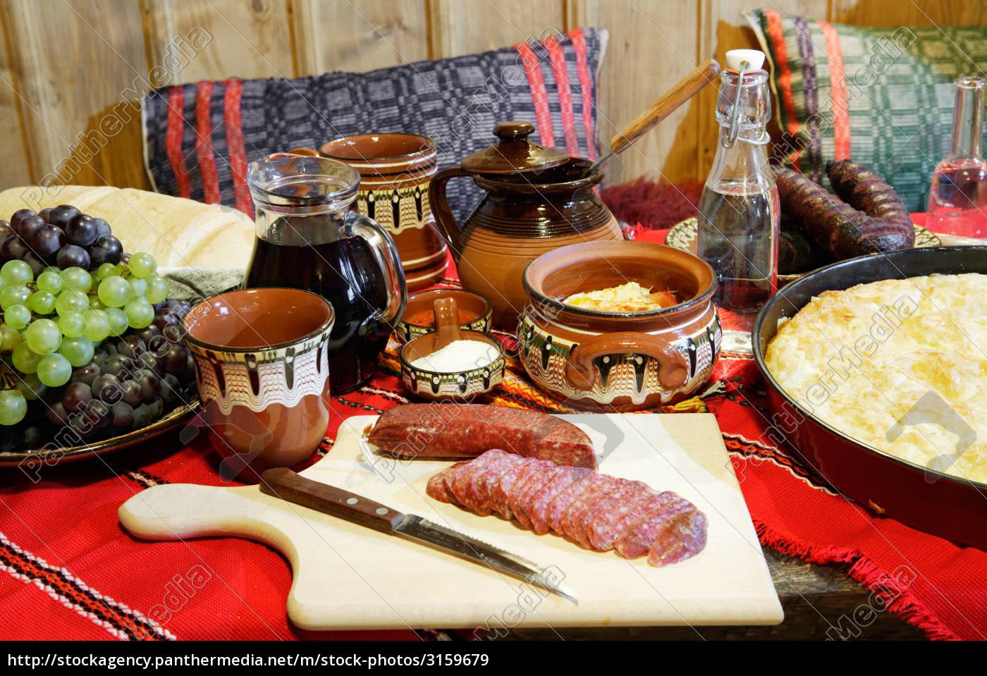 traditional, bulagrian, food - 3159679