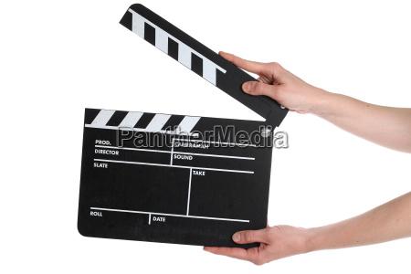 entertainment studio cinema slate board film