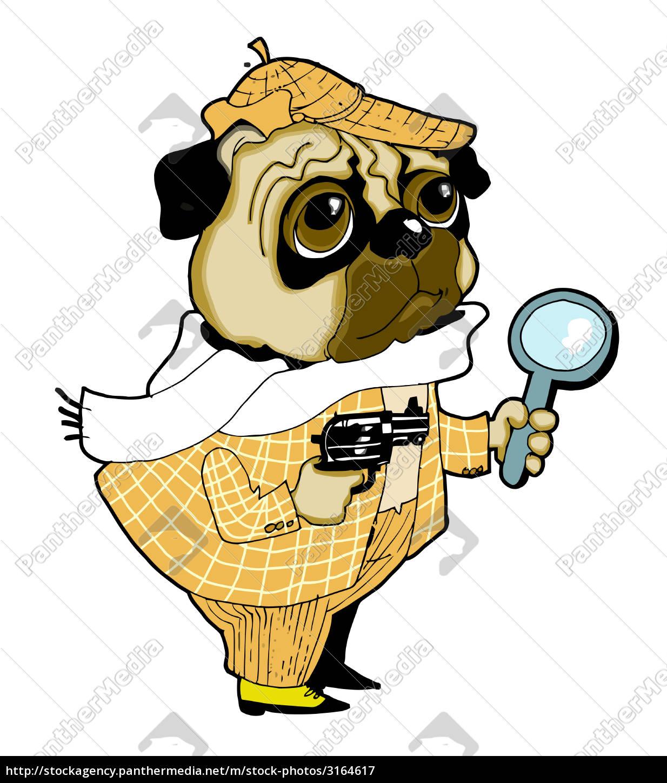 sherlock, holmes, dog - 3164617
