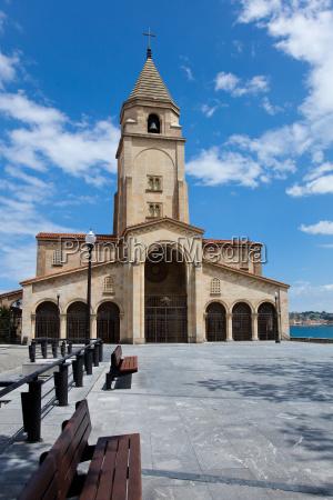 church, of, santa, catalina, , gijon, , spain - 3167179