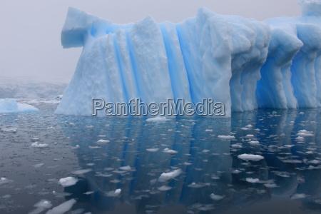 arctic, antarctic, reflection, mirroring, mirror, iceberg - 3171749
