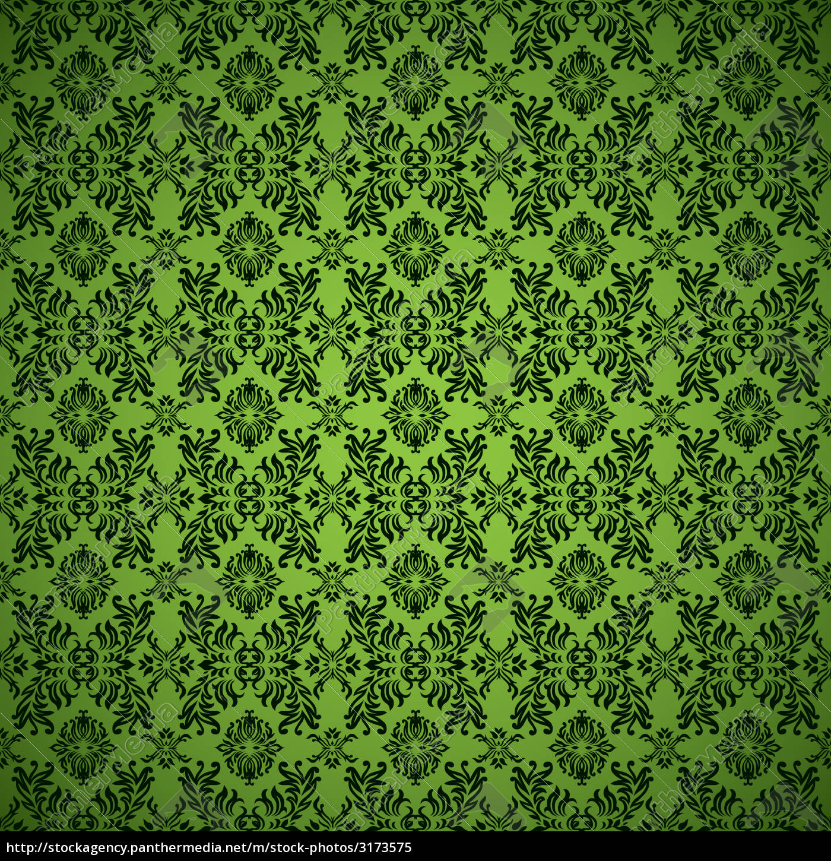 gothic, seamless, green, wallpaper - 3173575