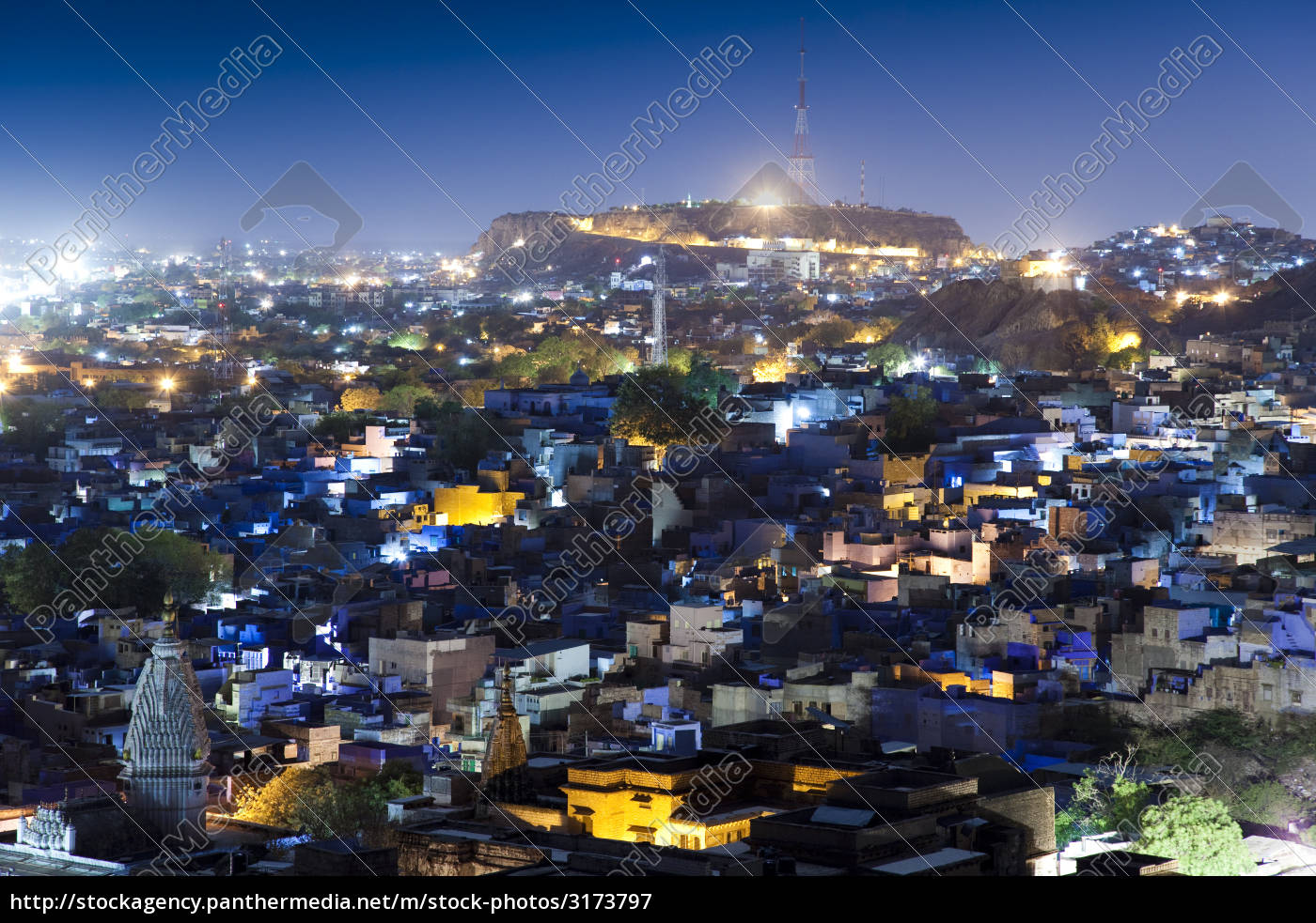 jodhpur, at, night - 3173797