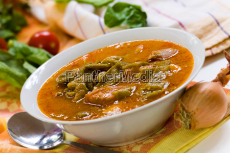stew, (goulash), with, green, beans, accomodat - 3174205
