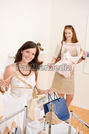 fashion, shopping, -, two, happy, woman - 3175713