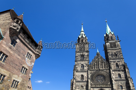 nuremberg, architecture, (lorenz, church) - 3181473