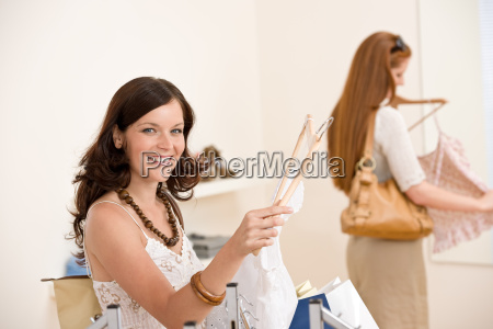 fashion, shopping, -, two, happy, woman - 3186237