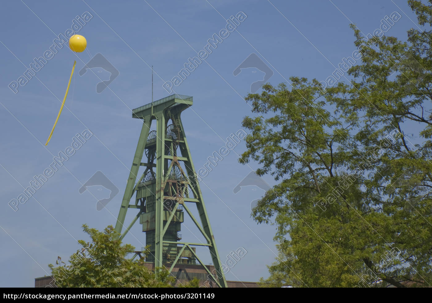 schachtzeichen, ruhr, 2010, lohberg - 3201149