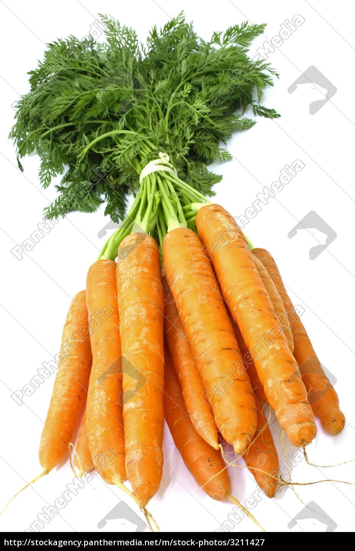 carrot, fresh, vegetable, group, on, white - 3211427