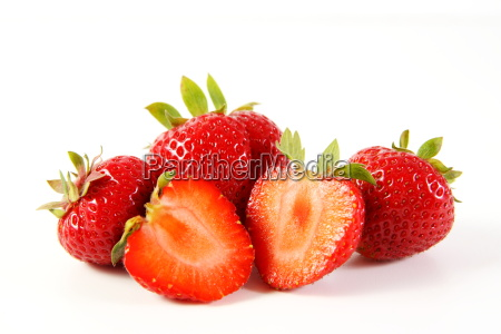 strawberry love isolated strawberries
