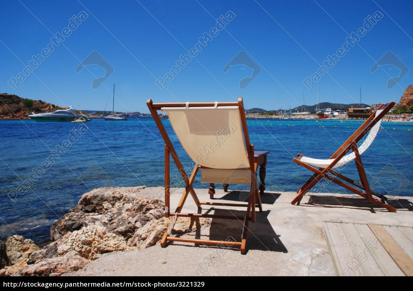 two, deckchairs - 3221329