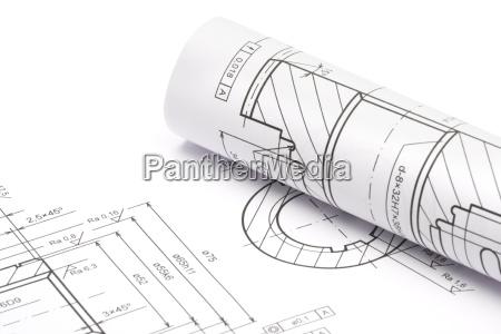 engineering, blueprints - 3224689