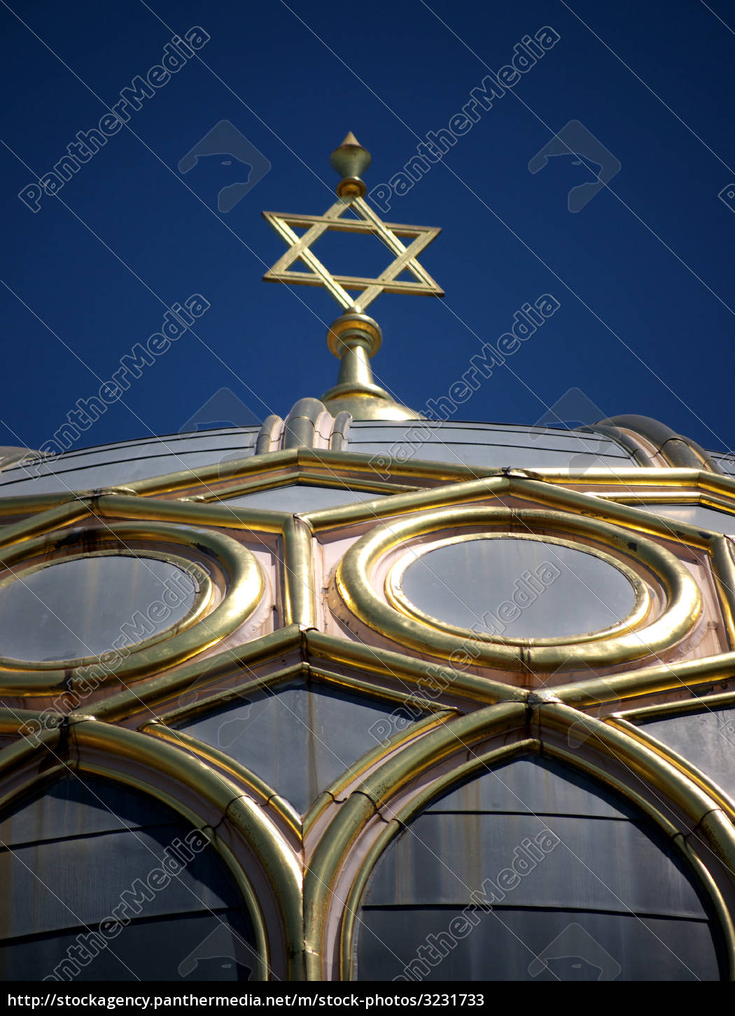 berlin, synagogue, dome, detail - 3231733