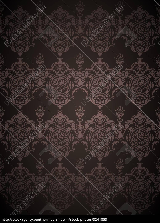 retro, flower, pattern - 3241853