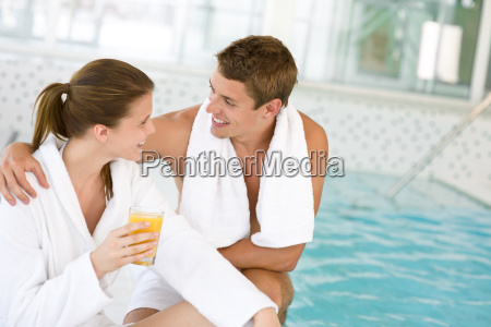 luxury, spa, -, young, couple, relax - 3242977
