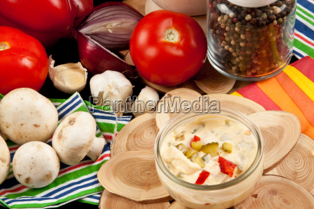 mayonnaise, salad, dressing - 3248343