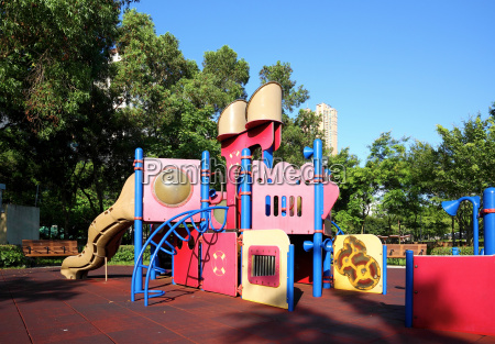 colorful, children, playground, in, park - 3253331