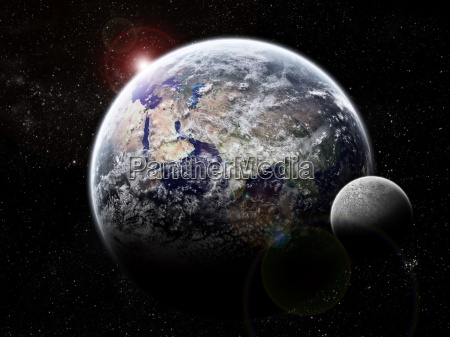 sunrise, behind, the, earth, eclipse - 3253483